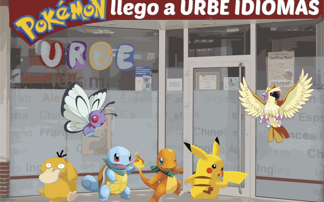 Los pokémones en Urbe Idiomas