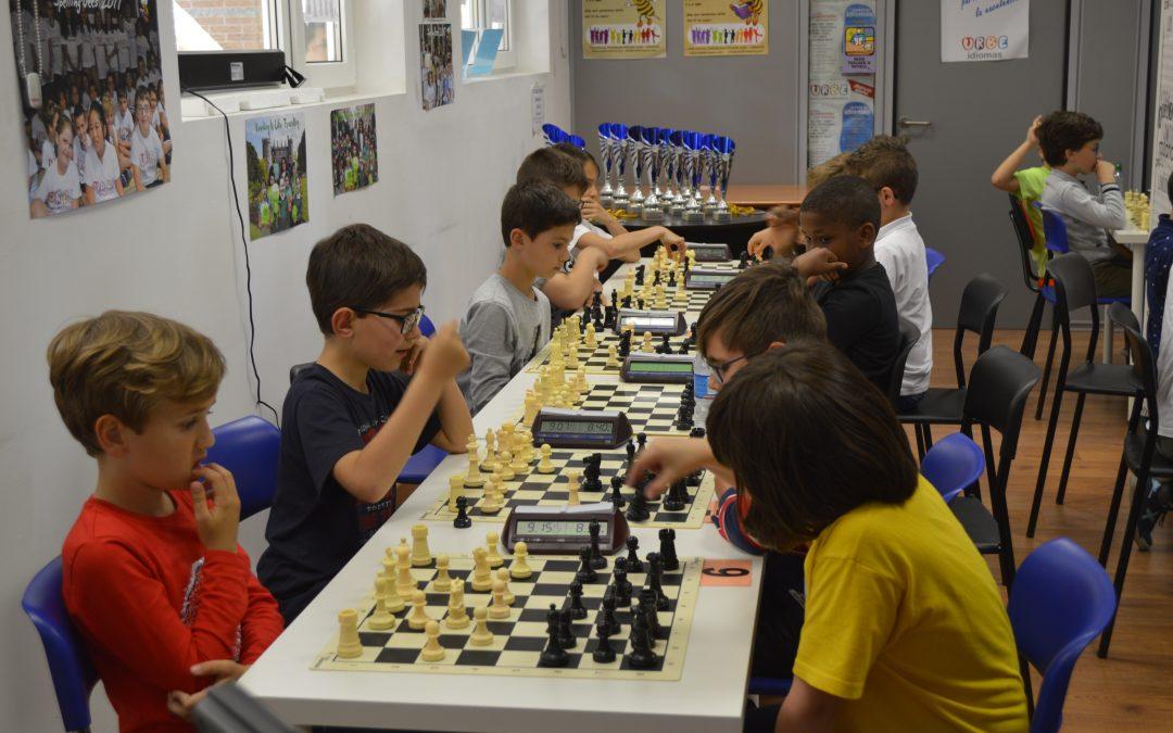 Resultados 8º torneo ajedrez Urbe Idiomas